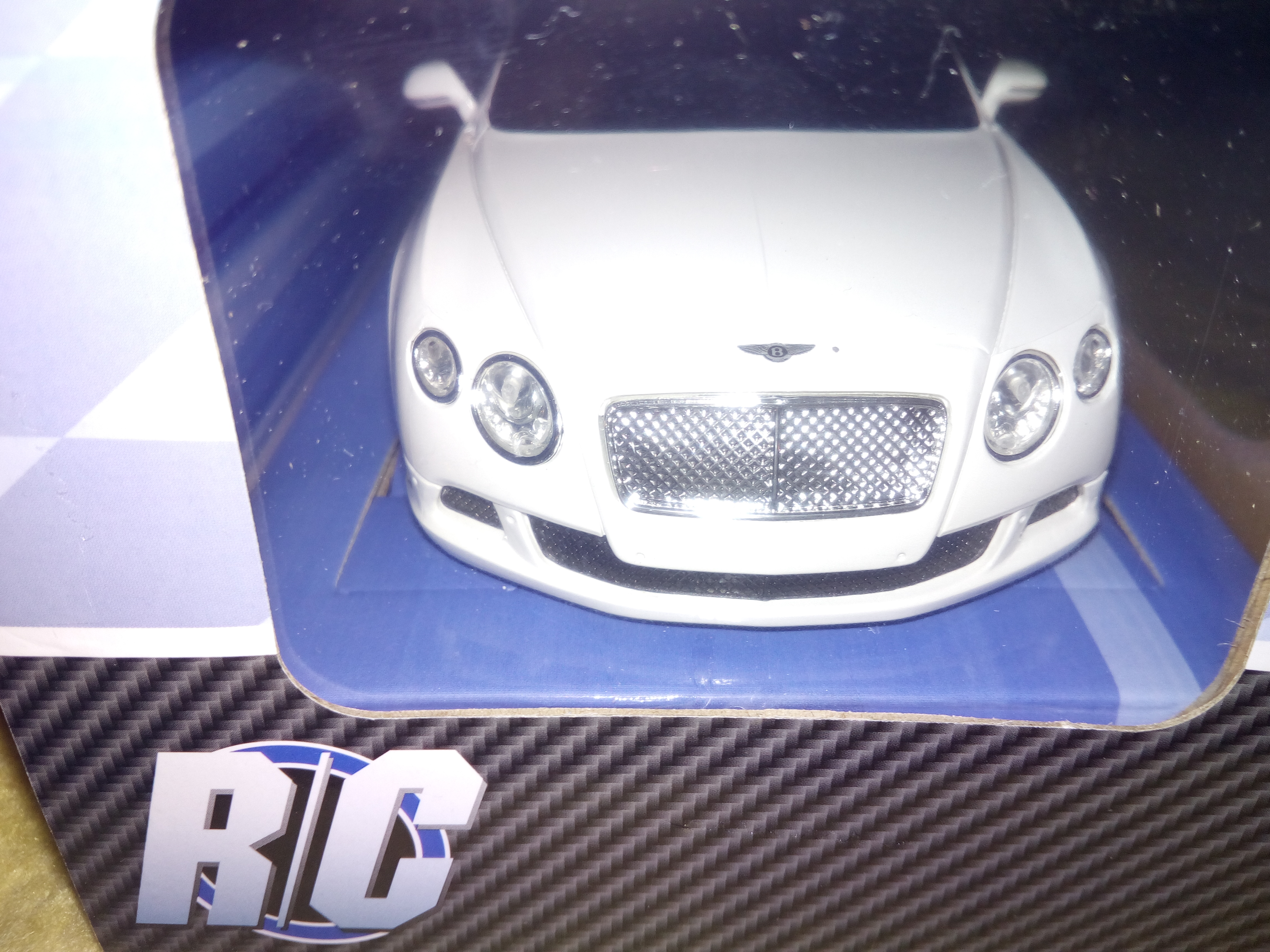 RC Auto Bentley Continental GT Speed White 1:24